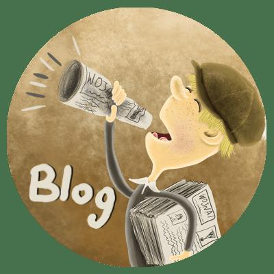 blog ilustratora książek Daniela Włodarskiego