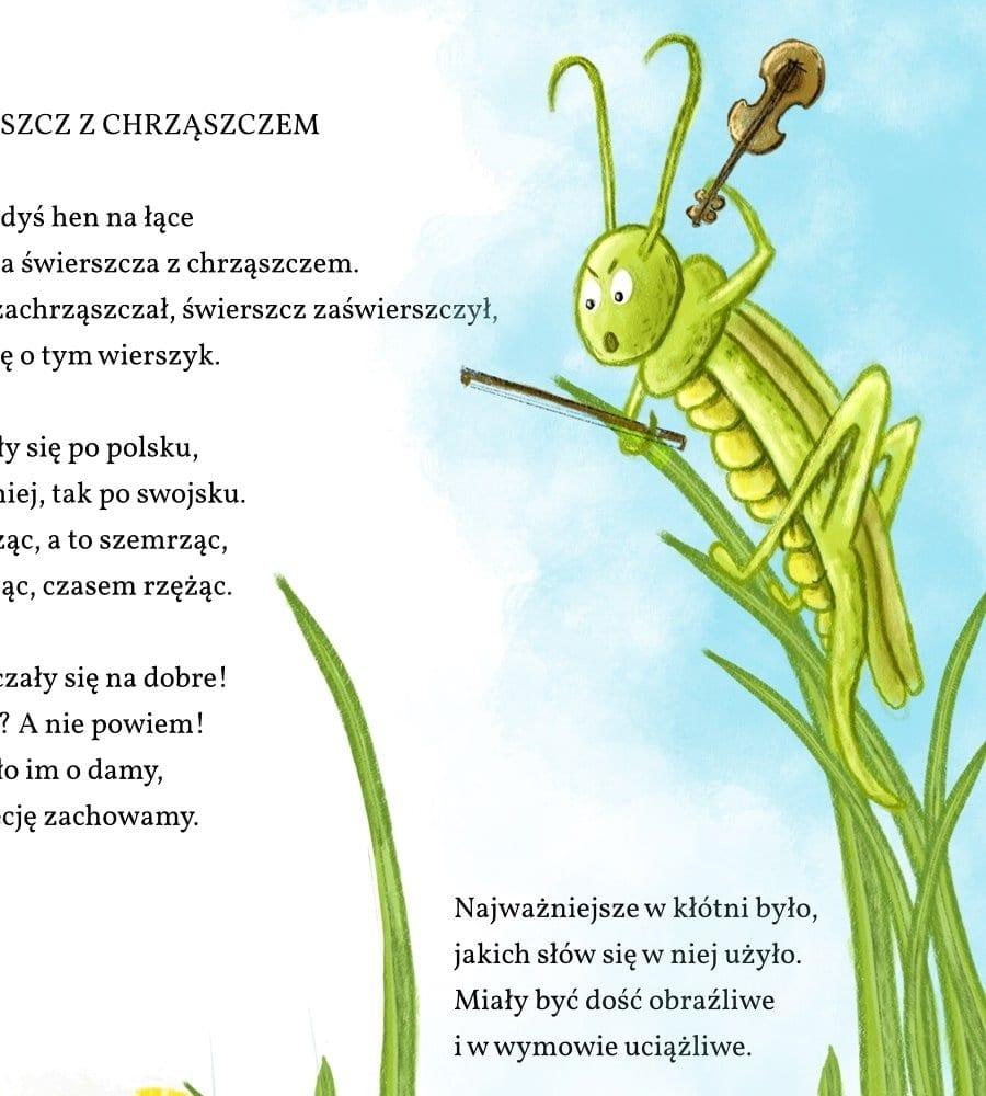 ilustracje do wierszy dla dzieci