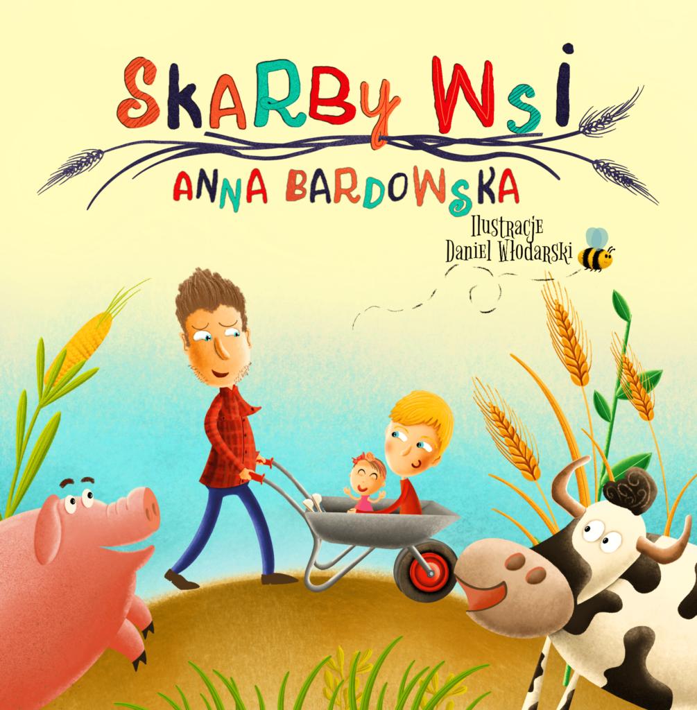 Książka Skarby wsi Daniel Włodarski Anna Bardowska