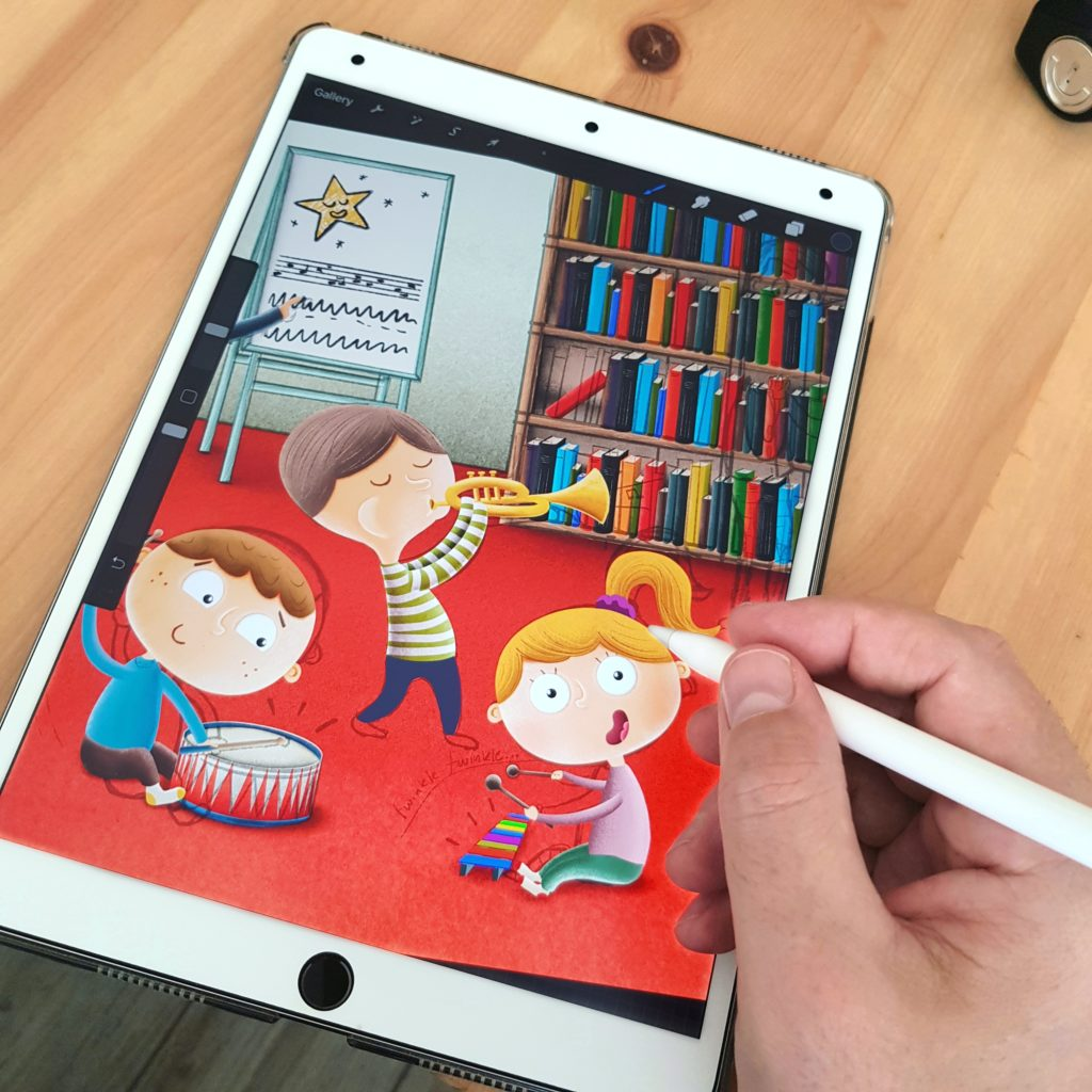 ilustracje do książek